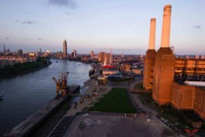 Image showing London from Battersea Power Station